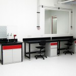 Wall Lab Bench & Sink Bench