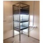 Adjustable tissue culture rack
